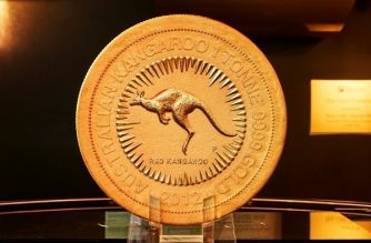 News Bites World's Largest Gold Coin On Display At NYSE For One Day Only