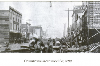 The Heyday of Mining in Greenwood BC