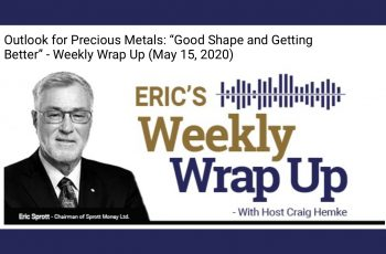 """Outlook for Precious Metals: """"Good Shape and Getting Better"""" – Weekly Wrap Up (May 15, 2020)"""