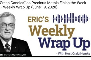 """Solid Green Candles"" as Precious Metals Finish the Week Strong – Weekly Wrap Up (June 19, 2020)"