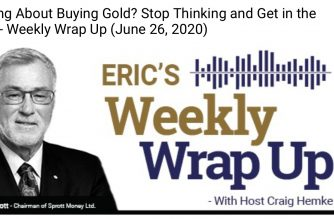 Thinking About Buying Gold? Stop Thinking and Get in the Game – Weekly Wrap Up (June 26, 2020)
