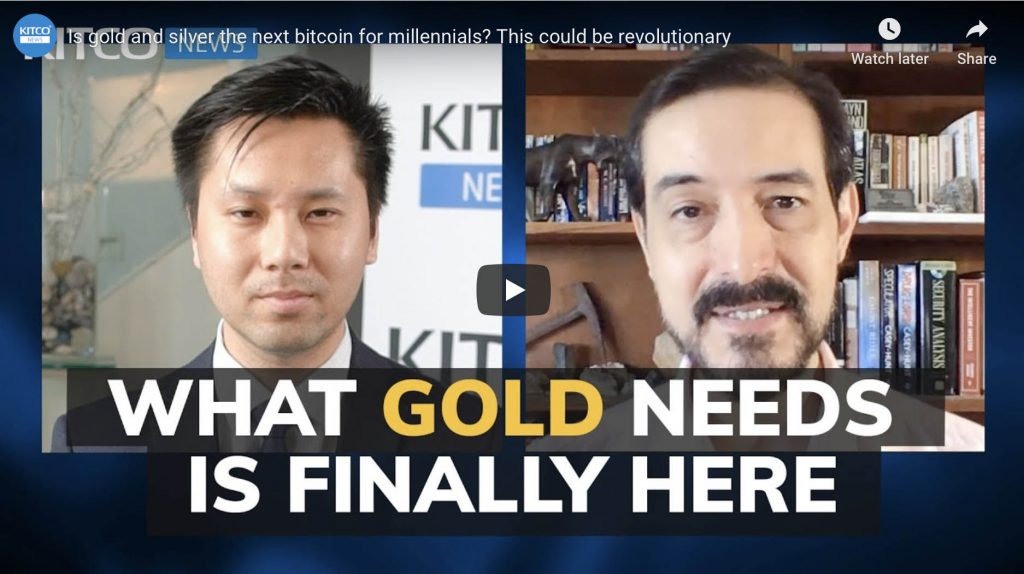 Is gold and silver the next bitcoin for millennials? This could be revolutionary