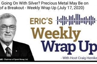 What's Going On With Silver? Precious Metal May Be on Verge of a Breakout – Weekly Wrap Up (July 17, 2020)