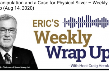 Price Manipulation and a Case for Physical Silver – Weekly Wrap Up (Aug 14, 2020)