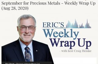 "Summer Doldrums Set to Give Way to ""Crazy"" September for Precious Metals – Weekly Wrap Up (Aug 28, 2020)"