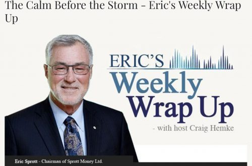 The Calm Before the Storm – Eric's Weekly Wrap Up October 16, 2020