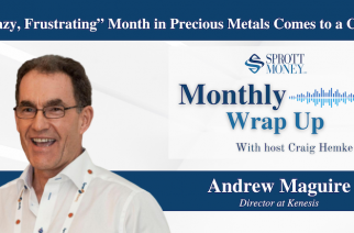 """""""Crazy, Frustrating"""" Month in Precious Metals Comes to a Close – Monthly Wrap Up"""