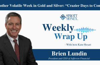 """Another Volatile Week in Gold and Silver: """"Crazier Days to Come"""" – Weekly Wrap Up"""